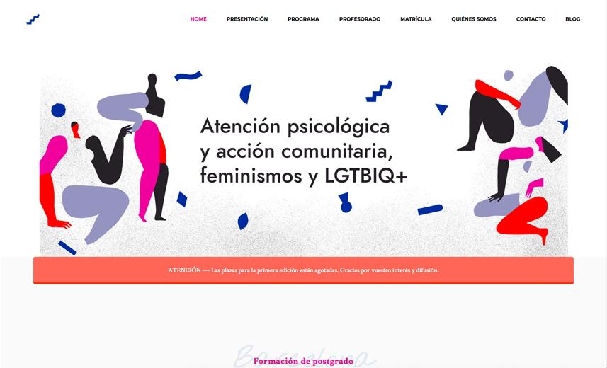 Postgrado Atención psicológica y acción comunitaria, feminismos y LGTBIQ+